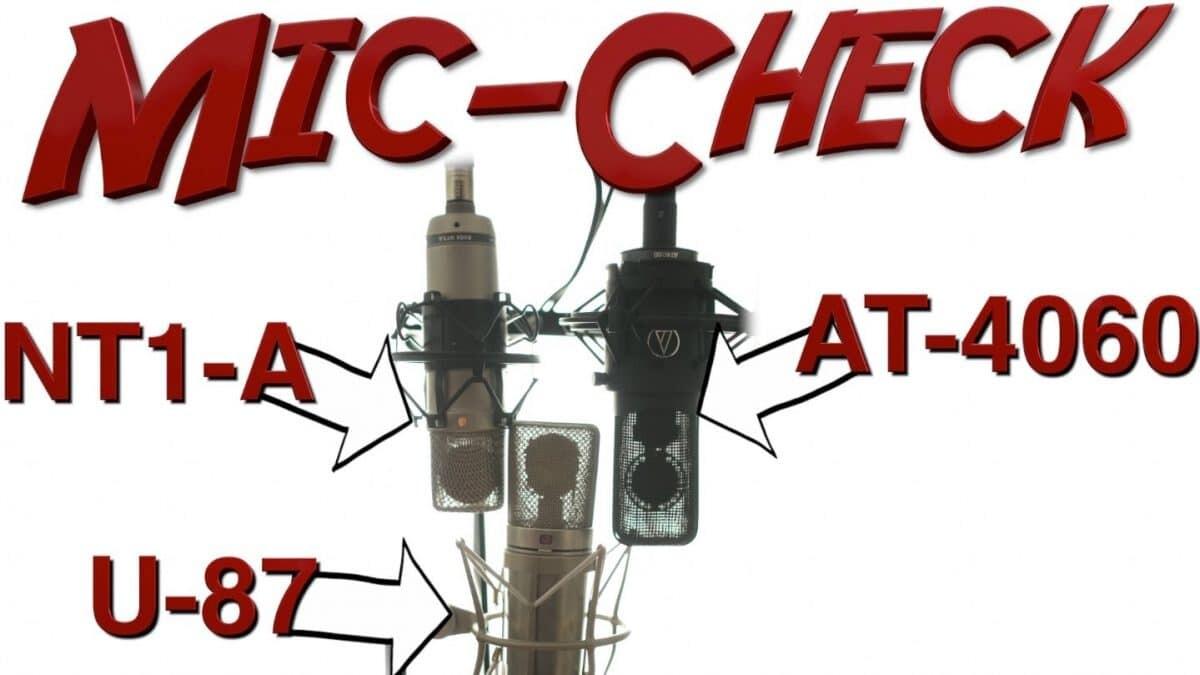 Mikrofone im direkten Vergleich