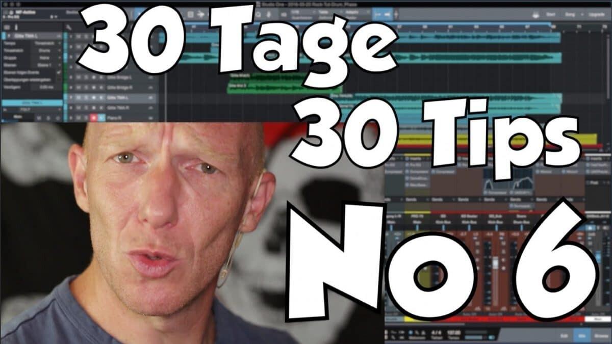#06 | 30 Tage, 30 Tips – Schlechte Lautsprecher im Studio