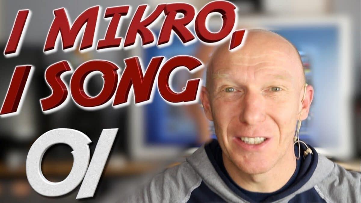 1 Mikro, 1 Song –  Die Challenge beginnt