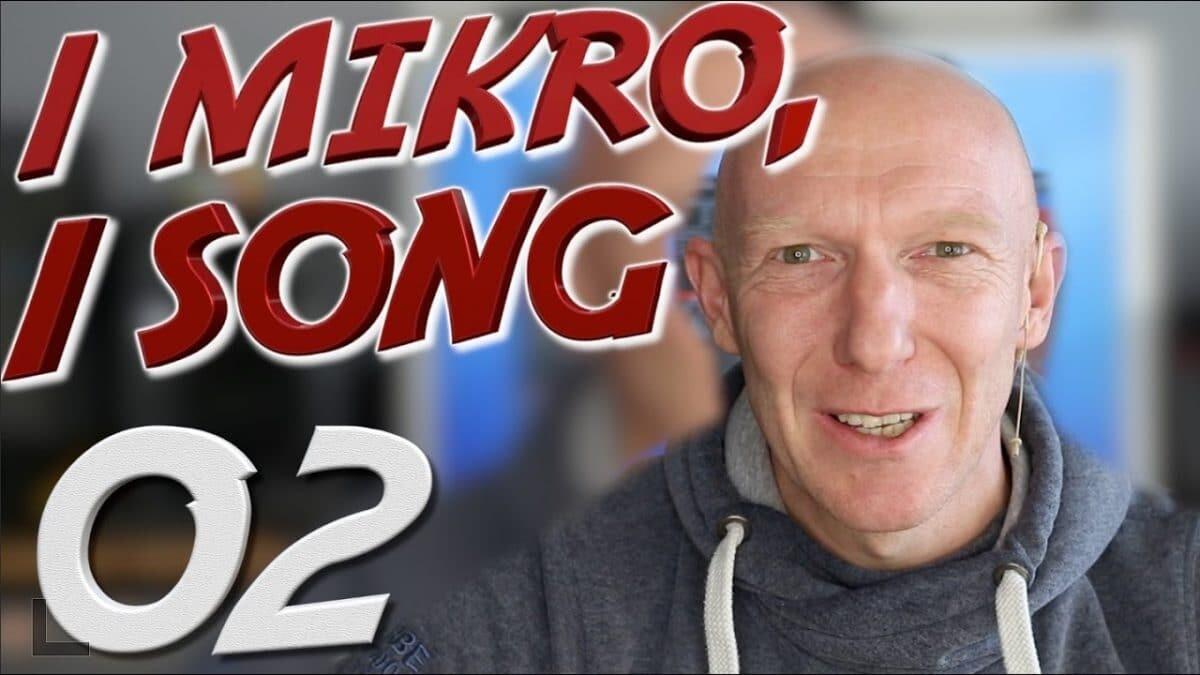 1 Mikro, 1 Song – Echte Drums aufnehmen und Mischen | Folge #02