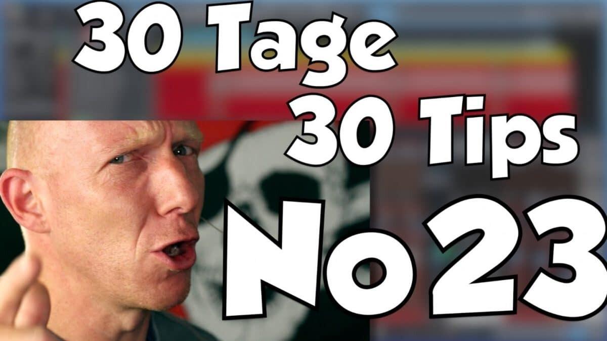 #23 | 30 Tage, 30 Tips – Richtig laut mit Limiter