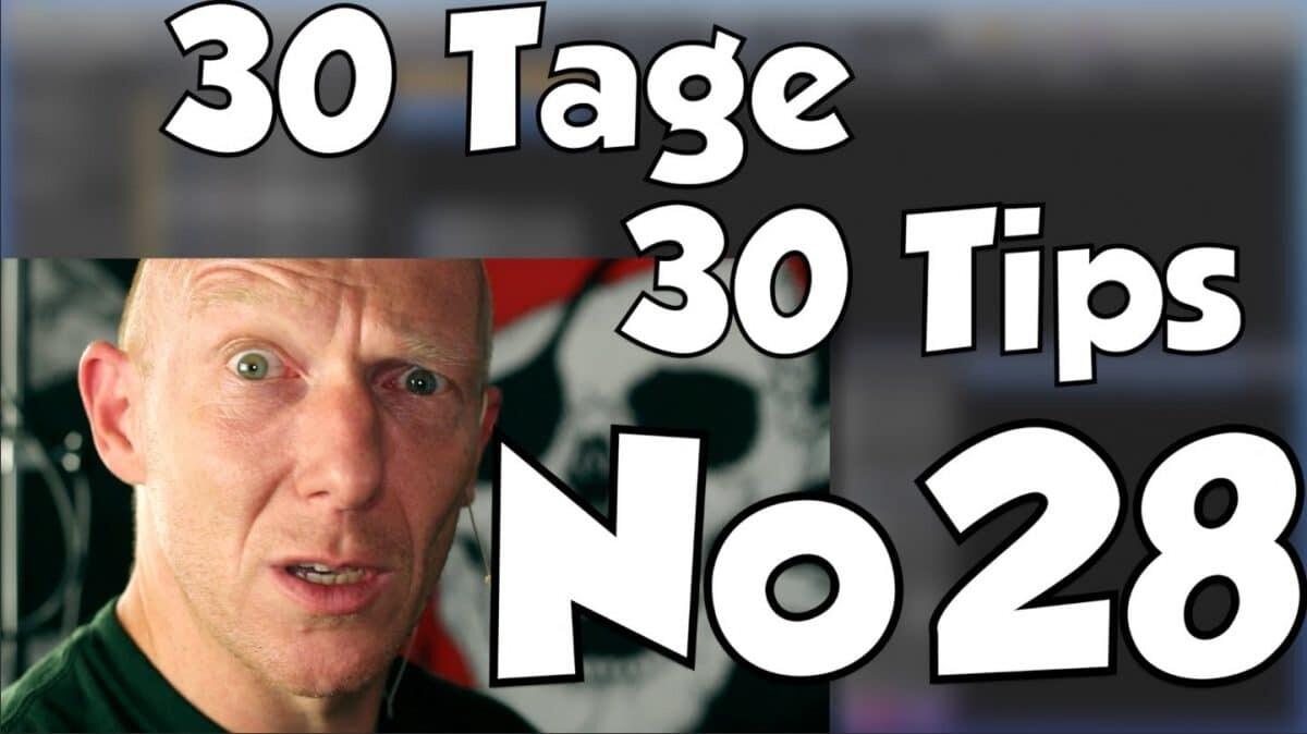 #28 | 30 Tage, 30 Tips – Natürliche Tiefenstaffelung bei Vocals