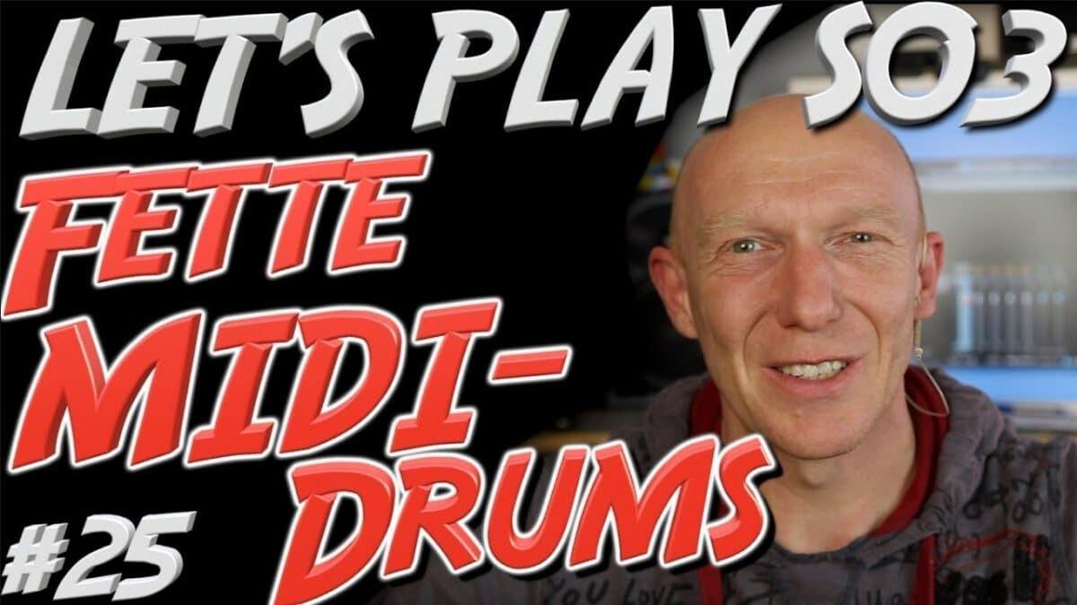 Müde klingende MIDI-Drums aufpolieren – so kann´s klappen!