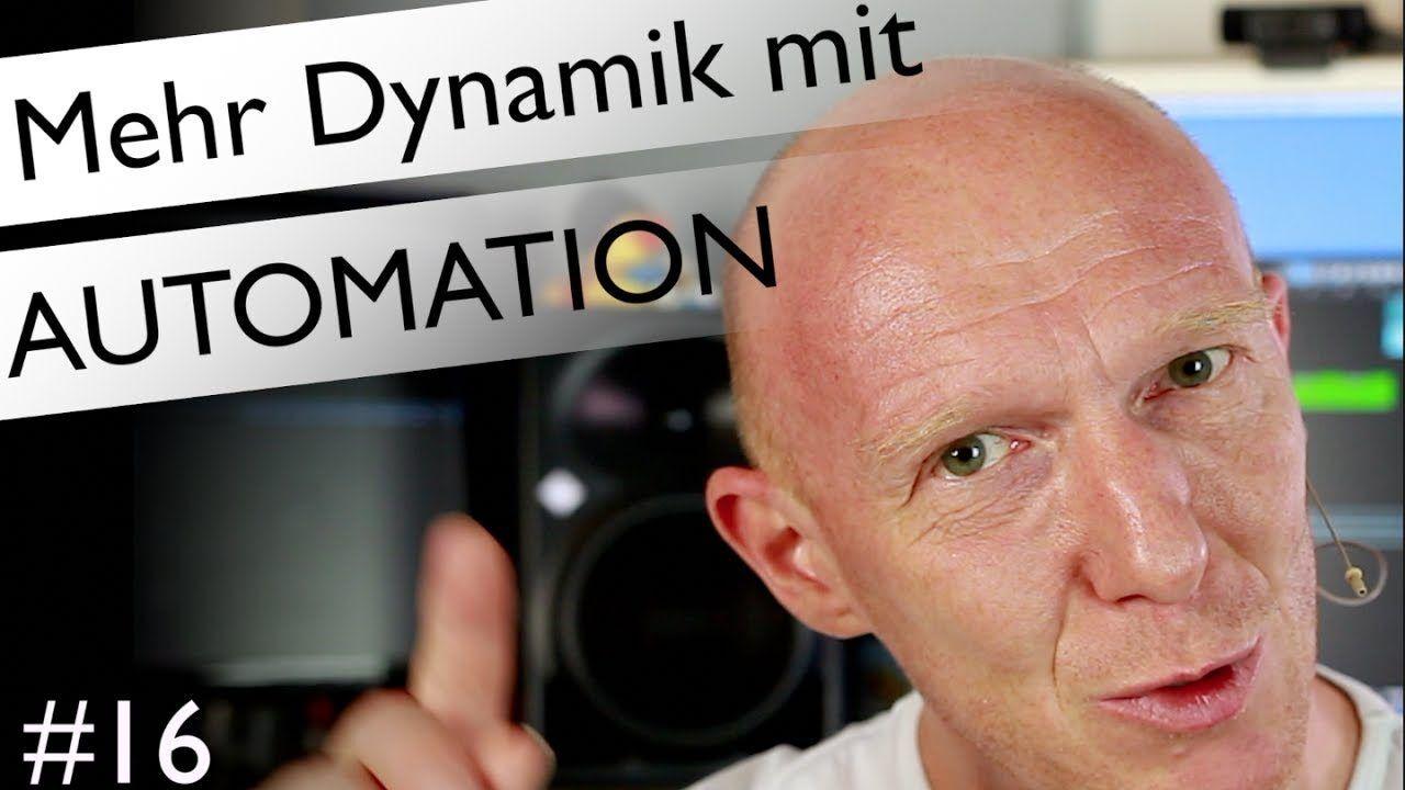 Mehr Dynamik im Rap-Playback mit Automation