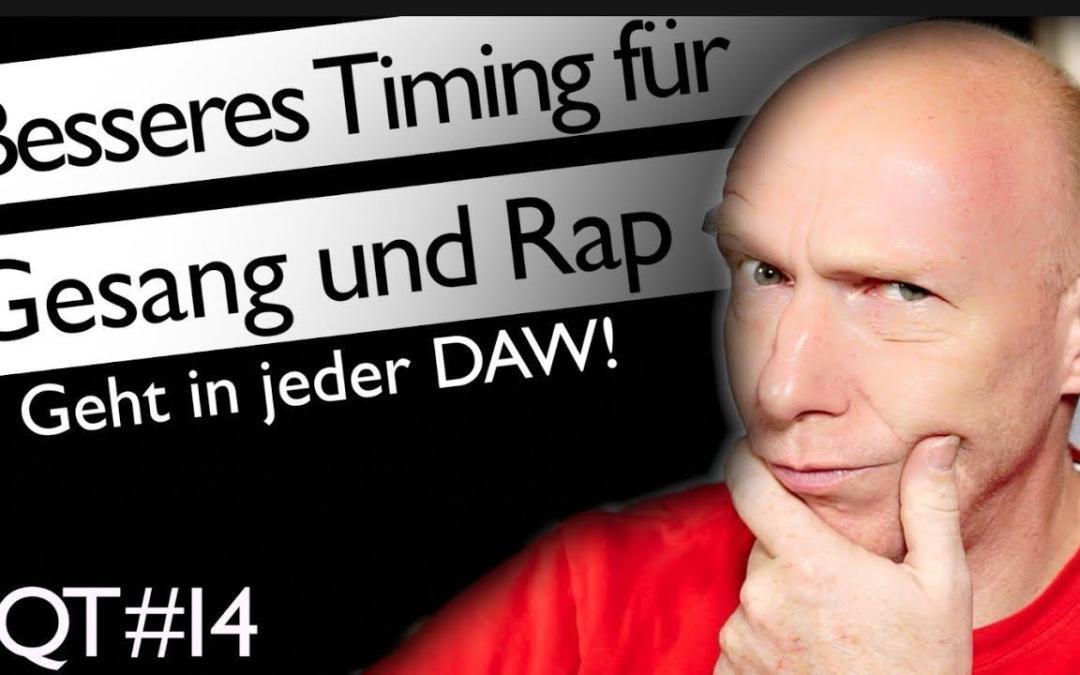 Besseres Timing für Vocals oder Rap mit kleinem Mix-Hack