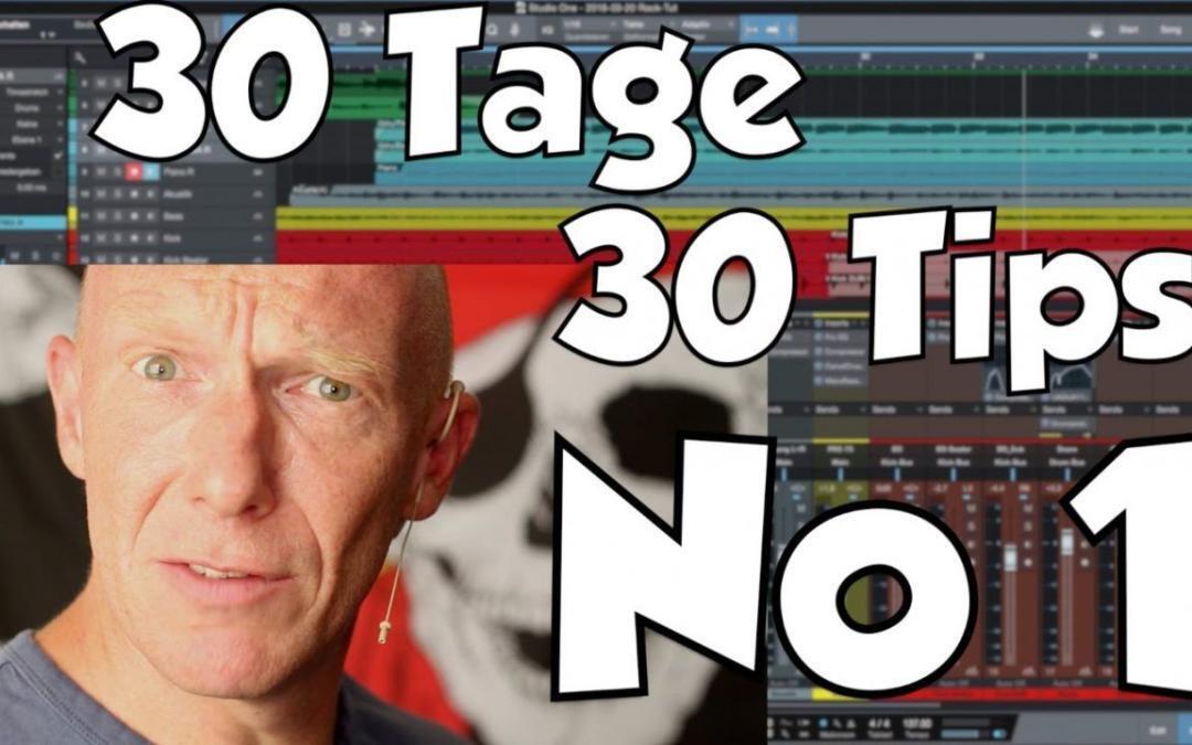 #01 30 Tage, 30 Tips – los geht´s :-)