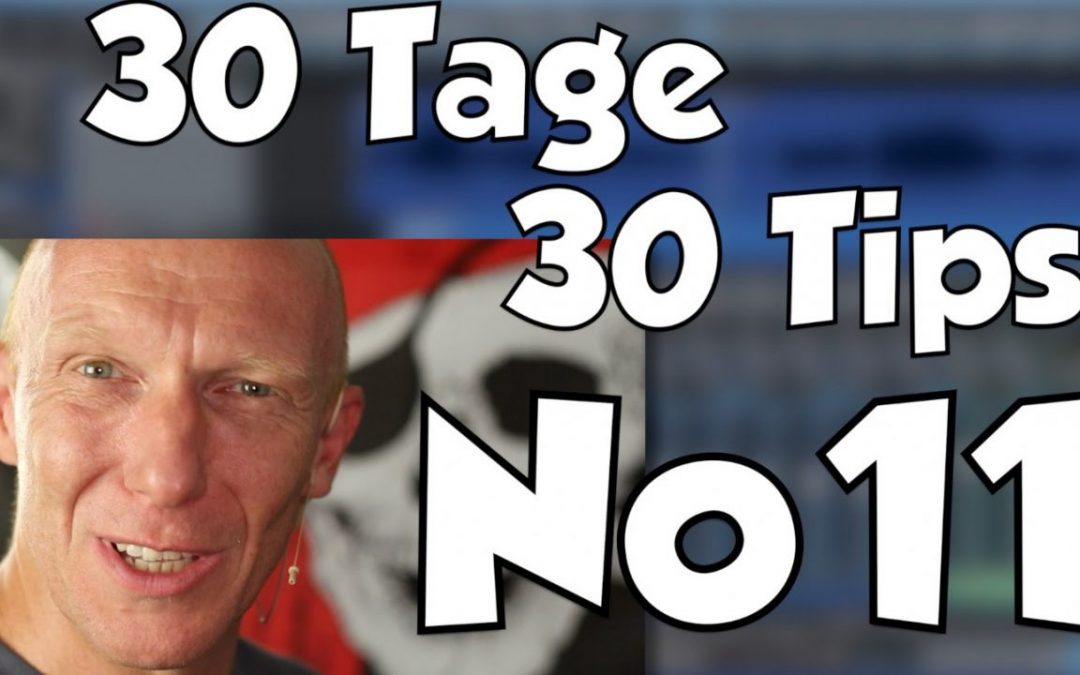 #11 | 30 Tage, 30 Tips – Krass komprimierte Vocals