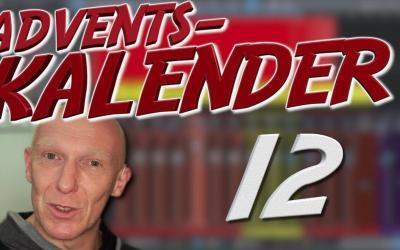 #12: Overheads im M/S-Verfahren aufnehmen und abmischen | Recording-Blog Adventskalender
