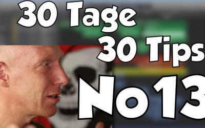 #13 | 30 Tage, 30 Tips – Weniger ist mehr im Arrangement