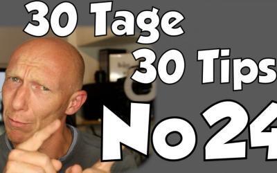 #24 | 30 Tage, 30 Tips – Was ist besser? 16 bit oder 24 bit?