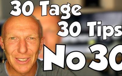 #30 | 30 Tage, 30 Tips – Finale mit Studiorundgang