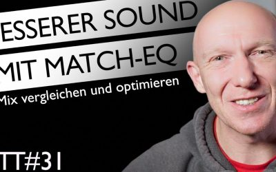 Mix verbessern mit Referenztitel und Match-EQ