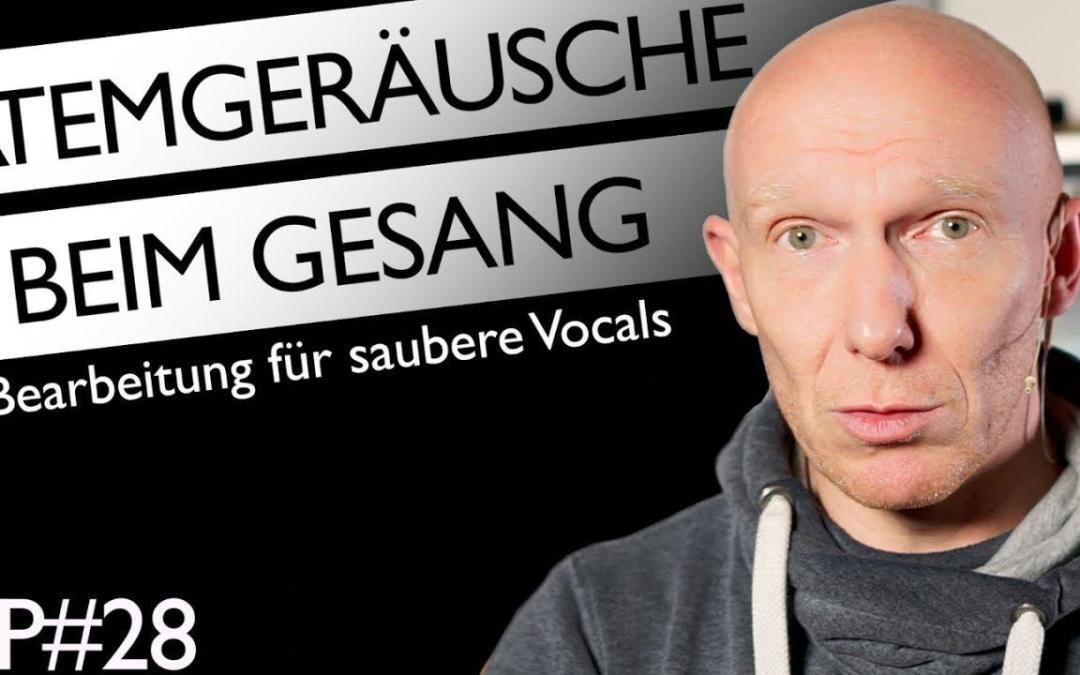 Vocals im Mix: Bearbeitung von Atemgeräuschen