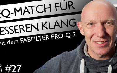 Fabfilter Pro Q2: Match-EQ für alle DAWs
