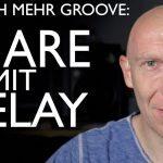 Snare mit Delay für mehr Groove im Mix