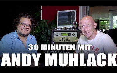 """30 Minuten mit Andy Muhlack (Komponist, Musik- und Hörspielproduzent, u.a. """"Der kleine Drache Kokosnuss"""")"""