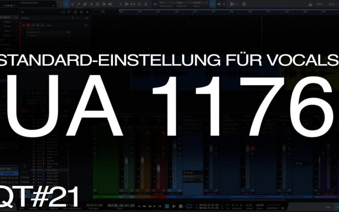 Wie stellt man einen 1176 für Vocals ein?