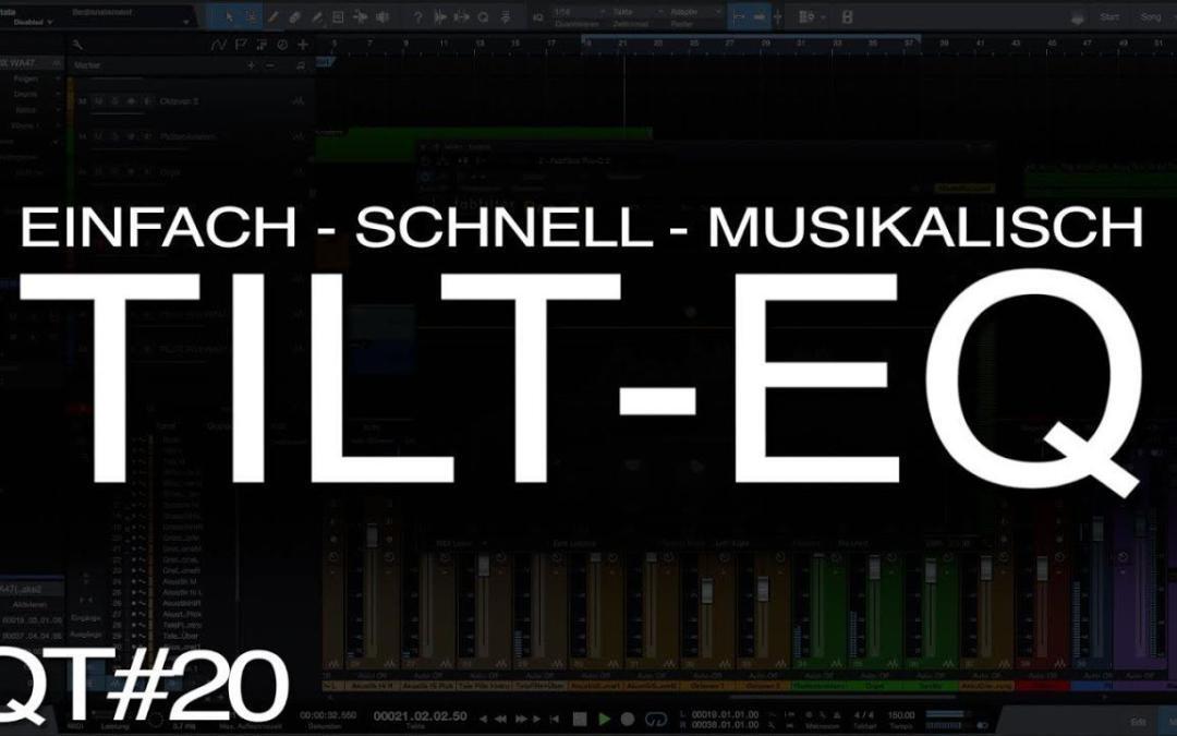 Wofür braucht man einen Tilt-EQ?