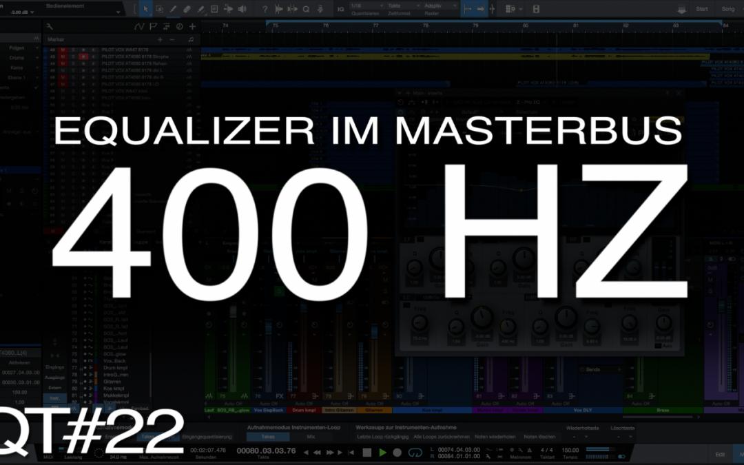 Klarer und sauberer Mix mit Equalizer im MasterBus