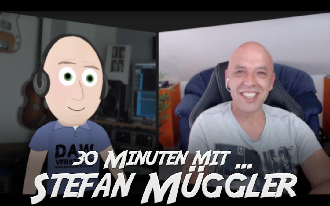 30 Minuten mit Mastering-Ingenieur Stefan Müggler