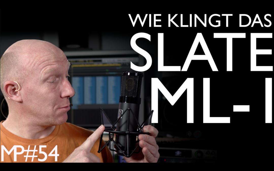 Wie klingt das Slate VMS ML-1 mit Vocals?