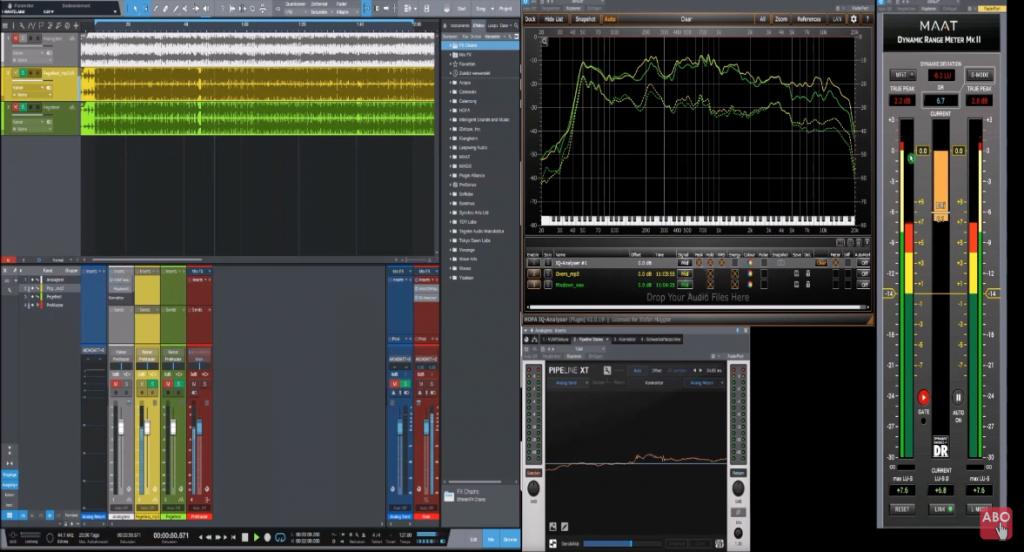 Anhand dieser Studio One 4-Session erklärt Stefan alles, was zum Thema Lautheit, Lautstärke und Pegel wissen muss.