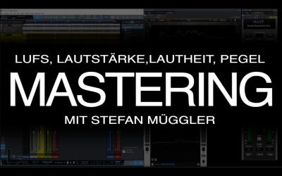 Lautstärke, Lautheit, Pegel beim Mastering