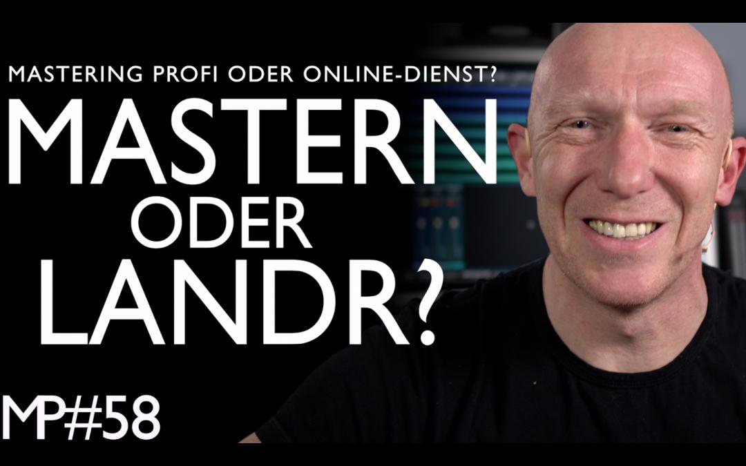 Blindtest: LANDR oder Mastering-Profi?