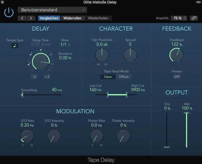 Mit einem Tape-Delay und Automation kann man coole Effekte für Pop und EDM zaubern.