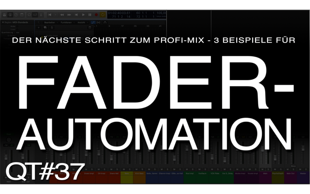 3 Beispiele für Fader-Automation