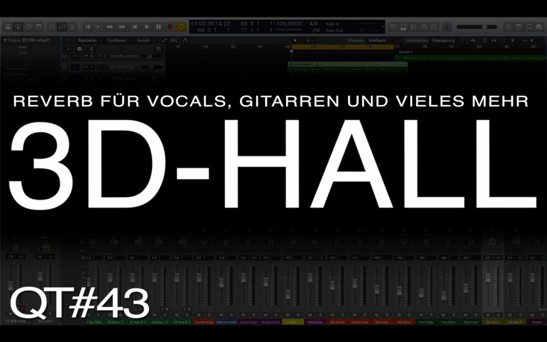 3D Hall nicht nur für Vocals