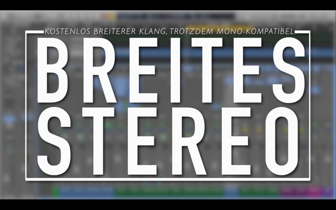 Stereo-Breite für Mono-Spuren: Der Wider
