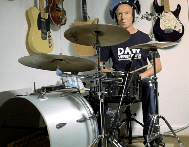 Minimalistisches Schlagzeug im Recording-Blog
