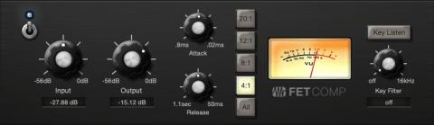 1176 nachempfundener Kompressor aus dem Fatchannel von Studio One 4
