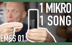 Ein Mikro, ein Song - Einführung und Gewinnspiel im Recording-Blog
