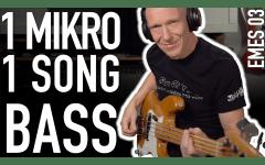E-Bass aufnehmen und abmischen - Ein Mikro, ein Song