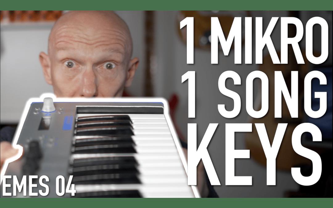 Ein Mikro, ein Song: Keyboards und Synthies aufnehmen und bearbeiten