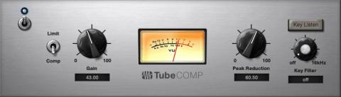 LA2A nachempfundener Kompressor aus dem Fatchannel von Studio One 4