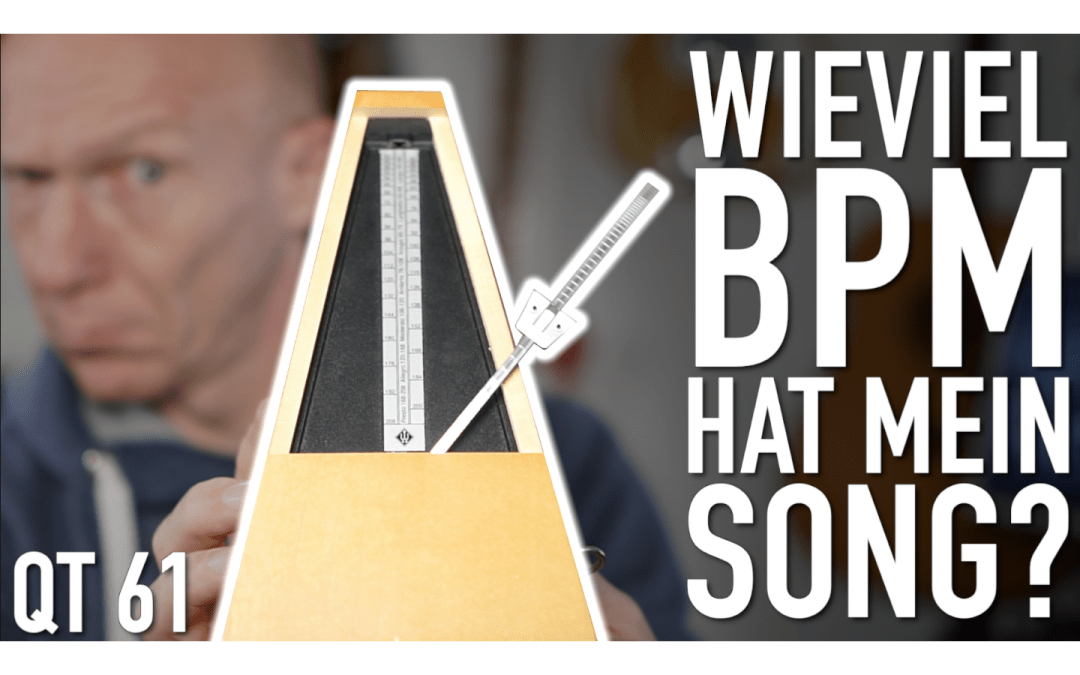 Wieiviel BPM hat mein Song?