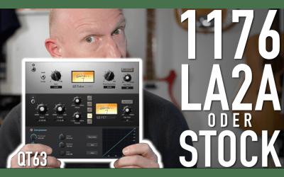 1176, LA2A oder Standard? Drei Kompressoren in Studio One 4