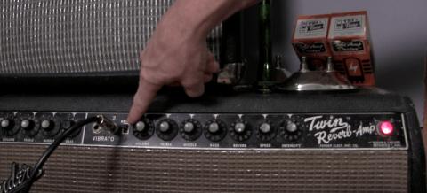 Echter Fender Blackface Twin Reverb von 1964