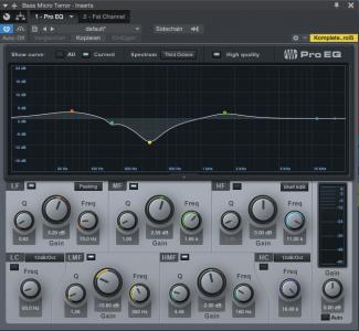 Subtraktiver EQ Bass