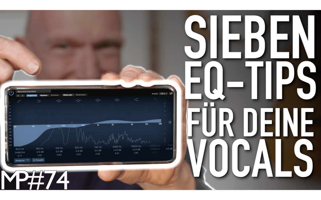 """4 Vocals aus """"7 EQ-Tipps für Deine Vocals"""" 03-2020"""