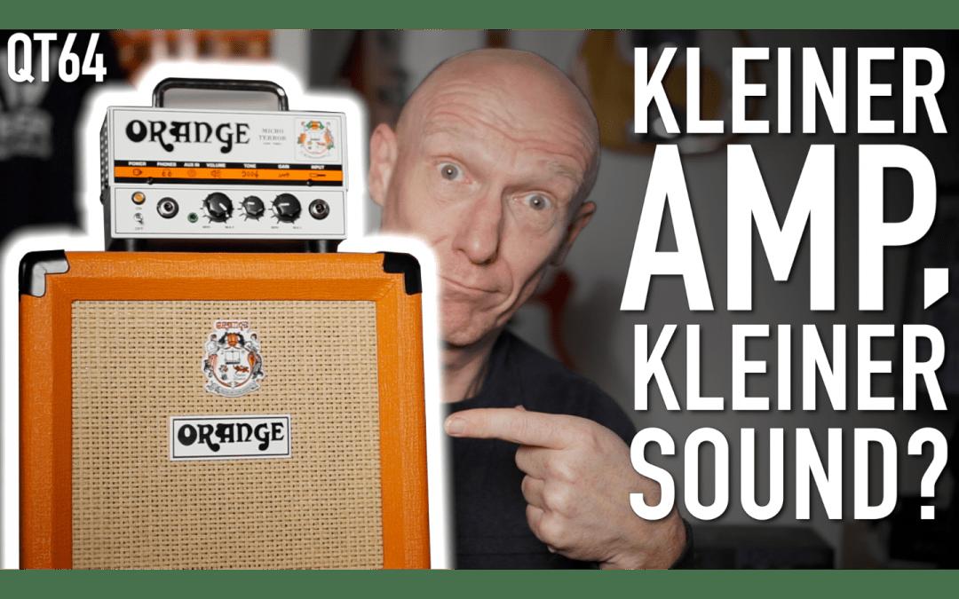 Kleiner Amp, großer Sound