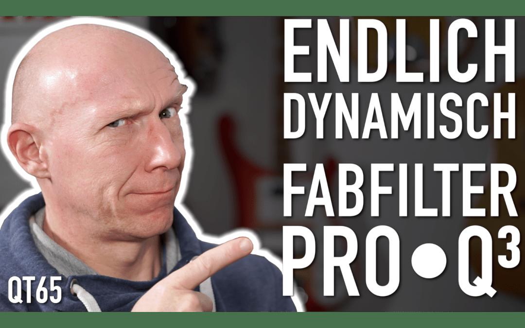 dynamische EQ im Fabfilter Pro Q3