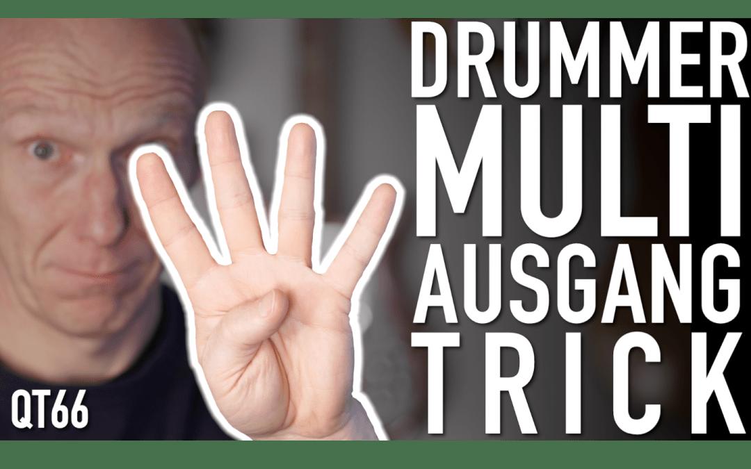 Logic Drummer Multi Output Trick