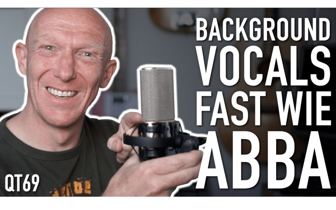 Backgroundvocals fast so groß wie bei ABBA