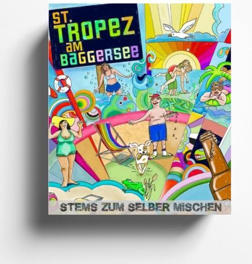 Stems des Monats August 2020 St. Tropez am Baggersee