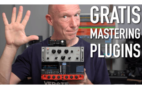 5 gratis PlugIns fürs Mastering