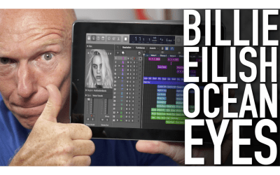 Alle Spuren, alle PlugIns: Session Ocean Eyes von Billie Eilish im Detail